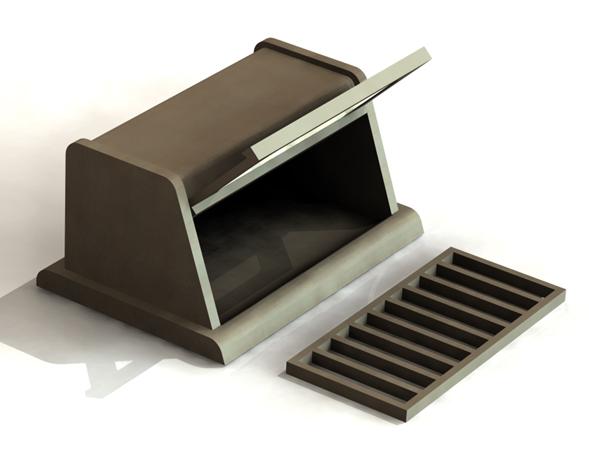 mobilier table huche pain design. Black Bedroom Furniture Sets. Home Design Ideas
