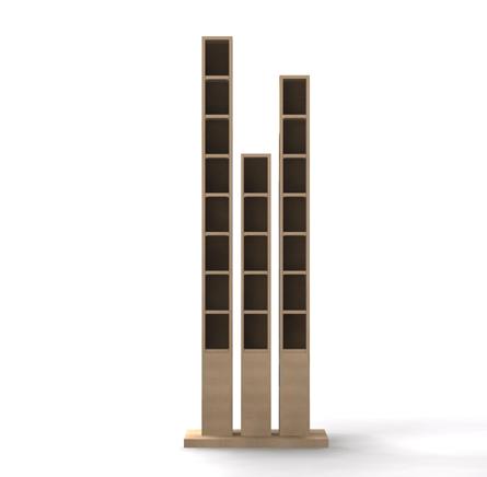 Sos design conseils id es et plans gratuits de meubles et objets design pou - Colonne range cd design ...