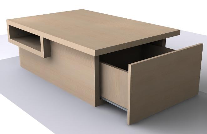 Sos design conseils id es et plans gratuits de meubles - Table basse avec bar ...