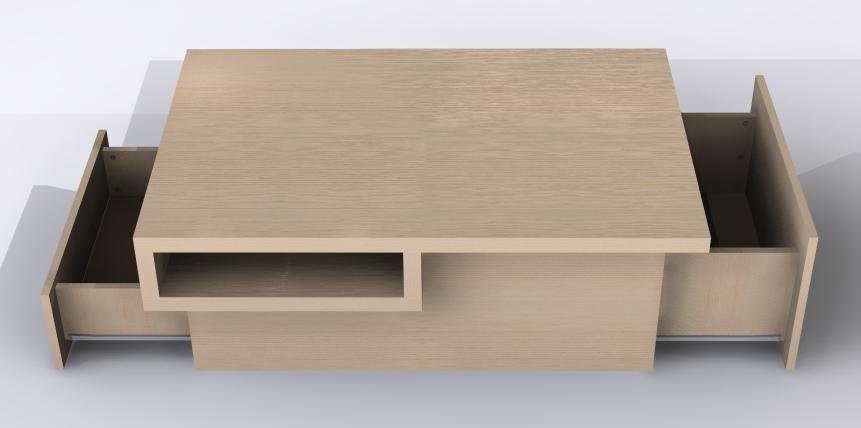 Sos design conseils id es et plans gratuits de meubles et objets design pour les particuliers - Plan de table basse en bois ...